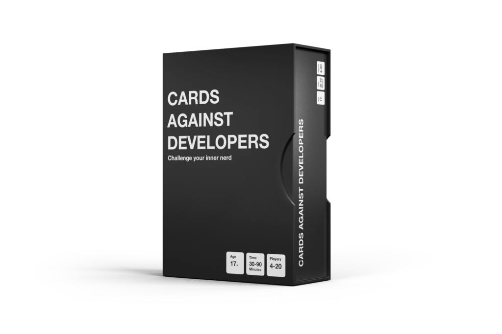 Cards Against Developers game box