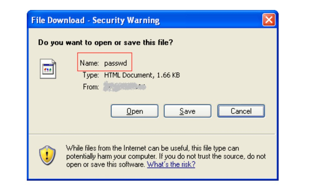 arbitrary file download