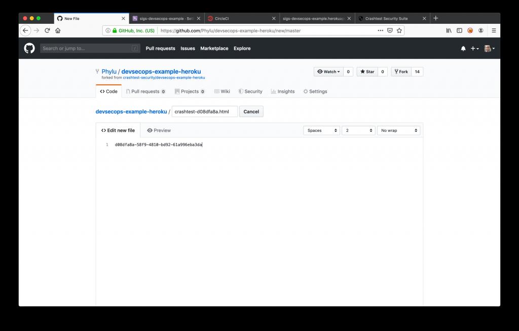 GitHub Create New File