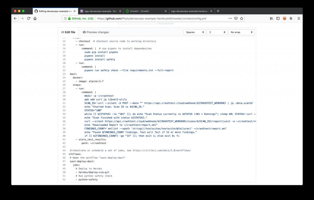 GitHub Enable Dependency Check