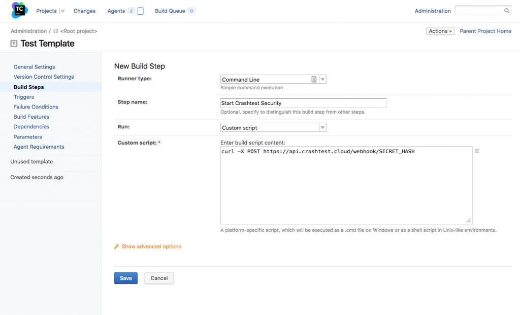 TeamCity Webhook Integration Setup
